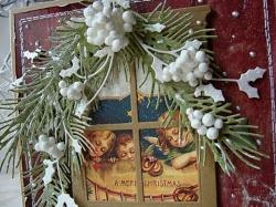 Идеи для создания своих собственных рукодельных открыток к Новому году!