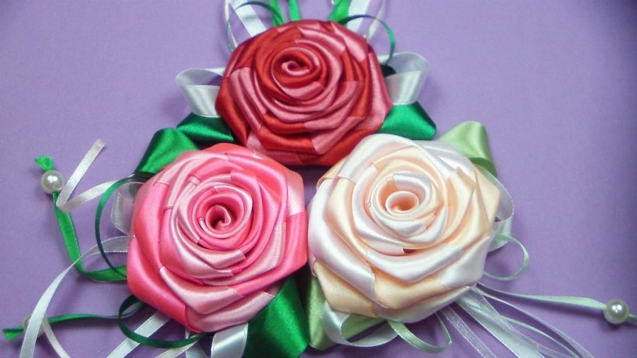 Розы из мастер класс