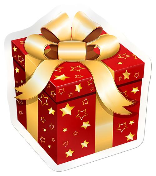 Рисунки о рождественских подарках